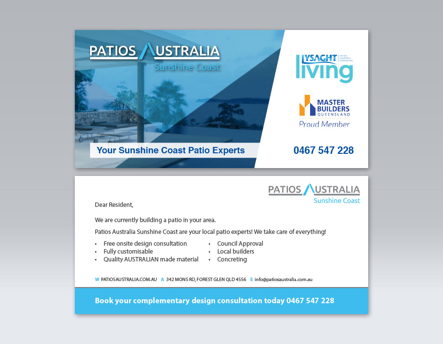 Brand Identity Design | Patios Australia Sunshine Coast