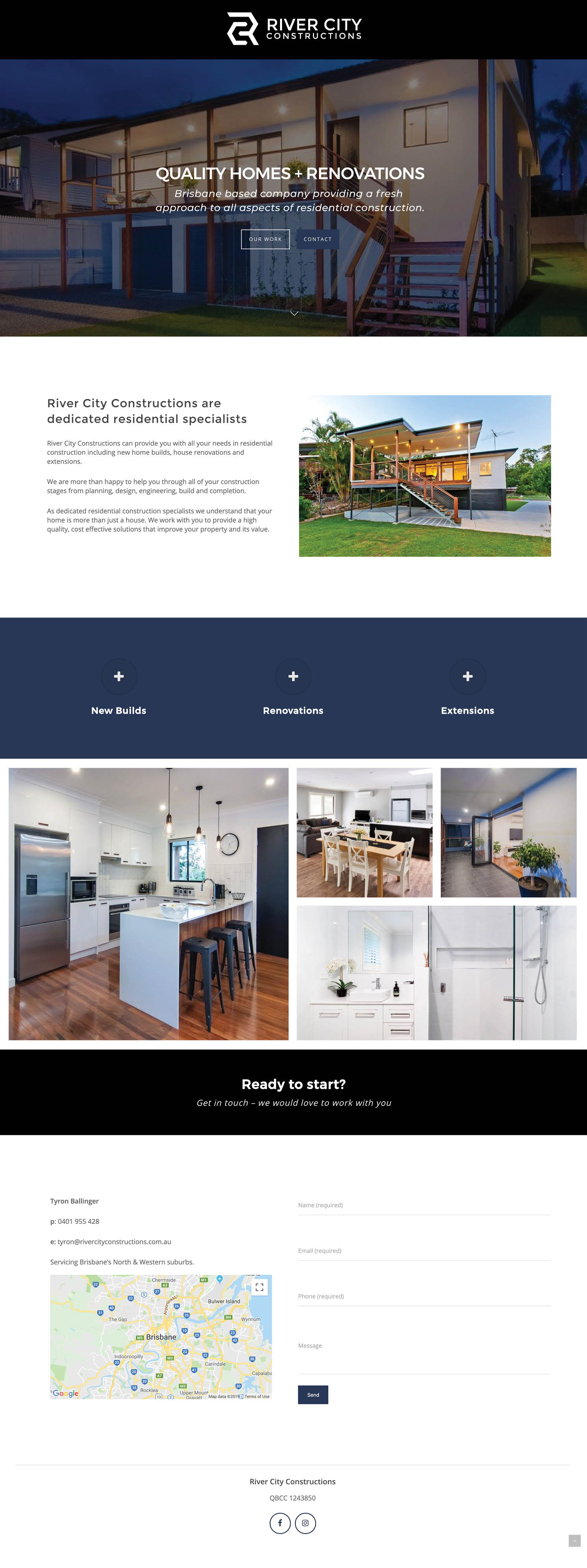 River City WordPress Website Design