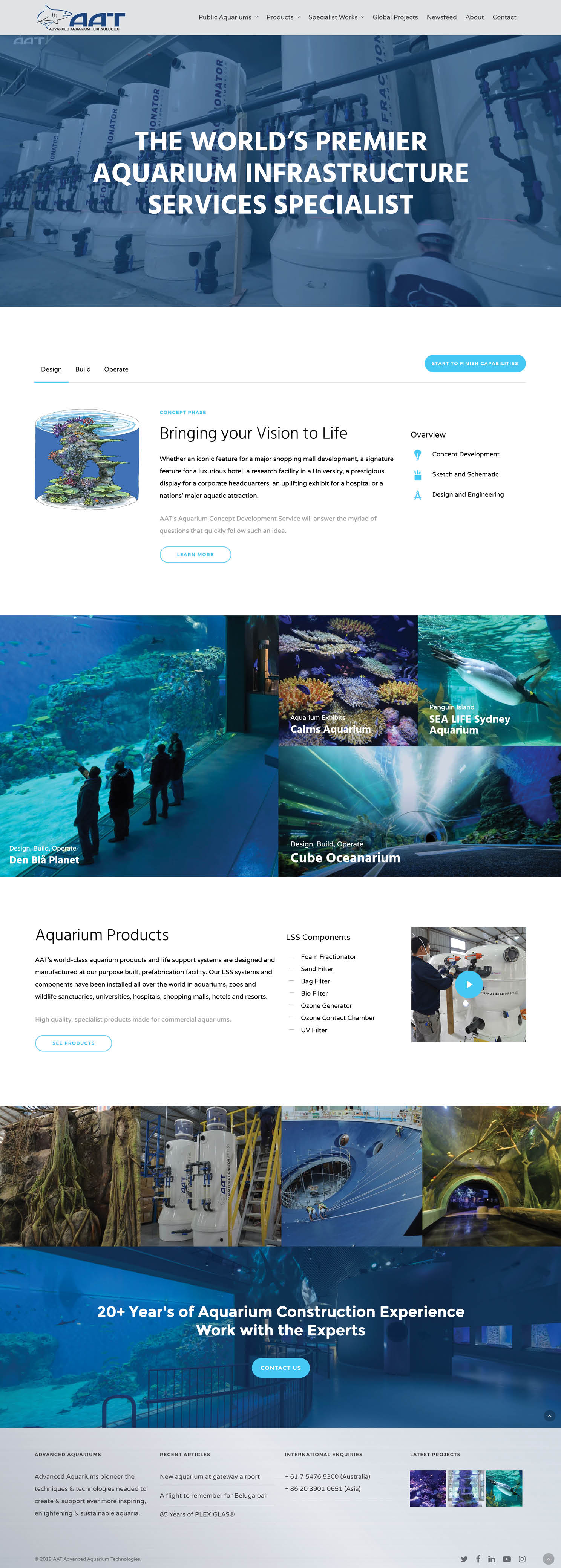 AAT WordPress Website Design